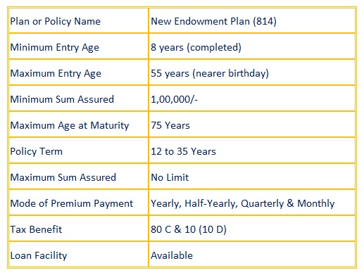 New Endowment Plan (814)