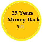 25 Years Money Back Policy 921